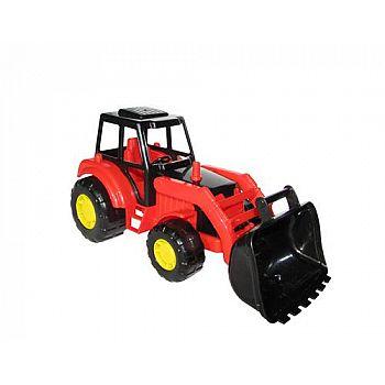 Трактор погрузчик Мастер 27х13х13,5 см.