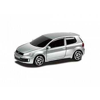 Машинка металлическая Uni-Fortune RMZ City 1:64 Volkswagen Golf GTI (цвет серебряный)