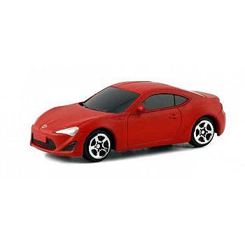 Машина металлическая Toyota 86, красный матовый цвет
