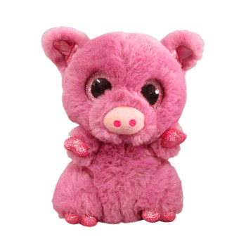 Свинка розовая,15 см игрушка мягкая