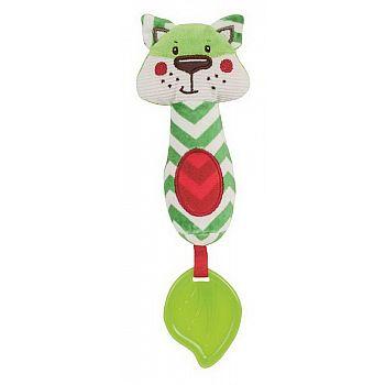 Игрушка-пищалкa Canpol Babies Forest Friends Лисенок зеленый