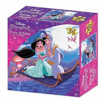 Пазл Prime 3D Принцесса Жасмин 100 элементов