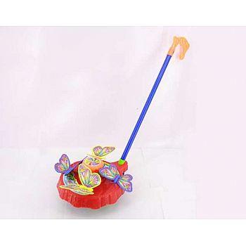 """Игрушка для малышей. Каталка """"Бабочки"""""""