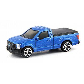 Машинка металлическая Uni-Fortune RMZ City 1:64 Ford F150 2018 (цвет синий)