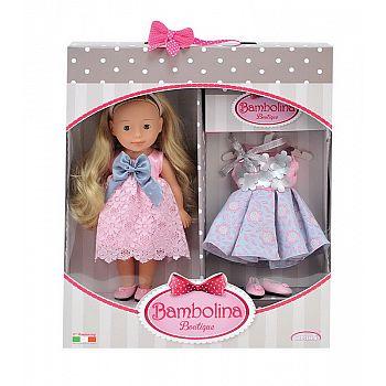 Кукла DIMIAN Bambolina Boutique Маленькая модница, 30 см