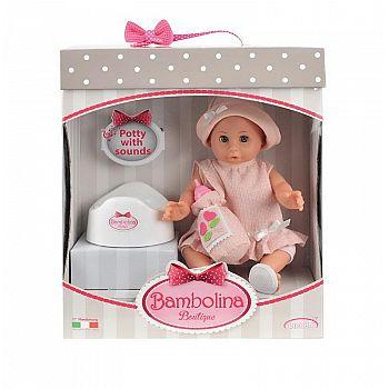 Кукла DIMIAN Bambolina Boutique с аксессуарами, 36 см