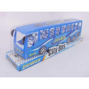 """Машинка """"Автобус"""", пластмассовая, 38х7х7,50 см"""