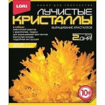 Набор Лучистые кристаллы Желтый кристалл