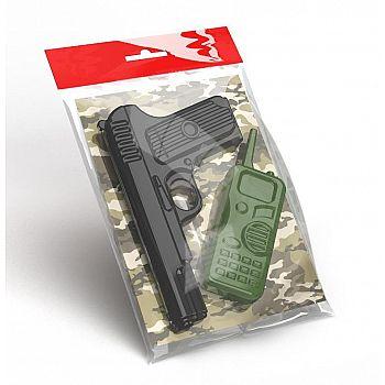 Оружие пластиковое Десятое королевство Пистолет Рация