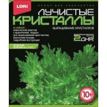 Набор Лучистые кристаллы Зеленый кристалл