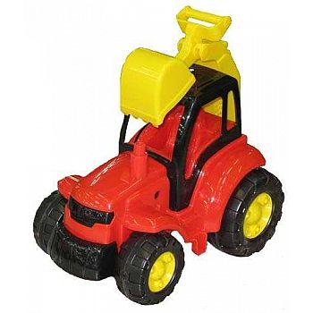 """Трактор """"Чемпион"""" с лопатой (в сеточке) 36х22,5х31,5 см"""