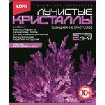 Набор Лучистые кристаллы Фиолетовый кристалл