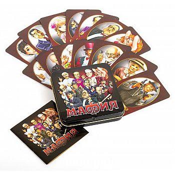 Настольная игра Десятое королевство Мафия (жестяная коробочка)