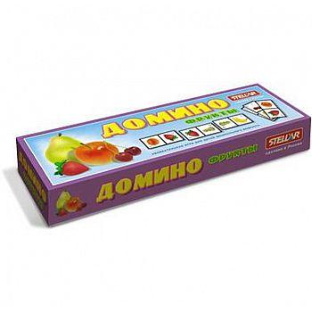 """Домино большое № 14 """"Фрукты"""""""