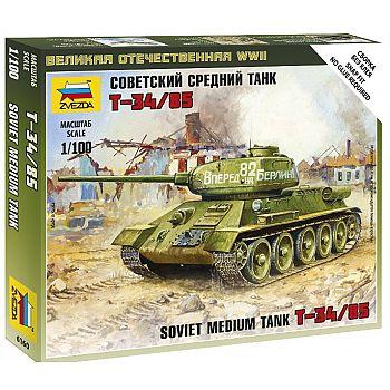 Сборная модель ZVEZDA Советский средний танк Т-34