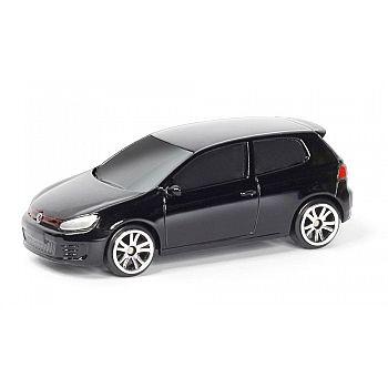 Машинка металлическая Uni-Fortune RMZ City 1:64 Volkswagen Golf GTI (цвет черный)