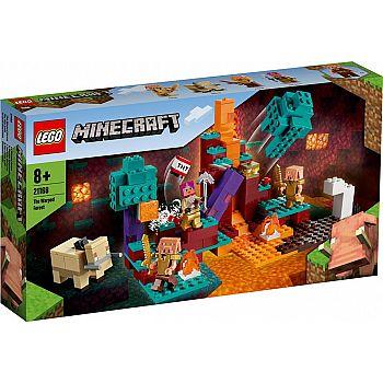 Конструктор LEGO Minecraft Искажённый лес