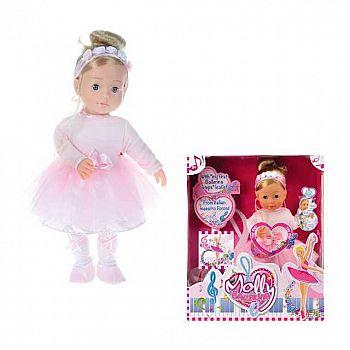 Кукла DIMIAN Molly Балерина, воспроизводит 8 классических мелодий, 40см