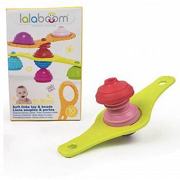 Игрушка развивающая Lalaboom Комплект соединителей, 10 предметов