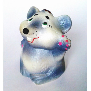 Крысенок 9 см, игрушка ПВХ