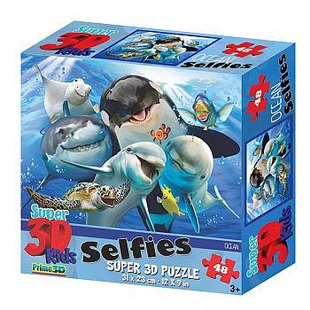 Пазл Prime 3D 48 Океанское селфи