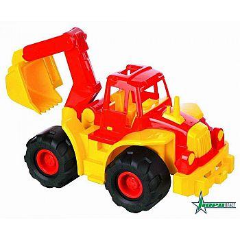 """Трактор """"Богатырь"""" с ковшом 50,5х37х31,5 см"""