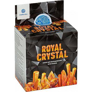 Набор для опытов Intellectico Royal Crystal кристалл оранжевый
