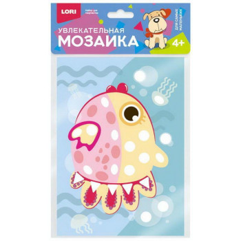 """Мозаика увлекательная (набор малый) """"Рыбка"""""""
