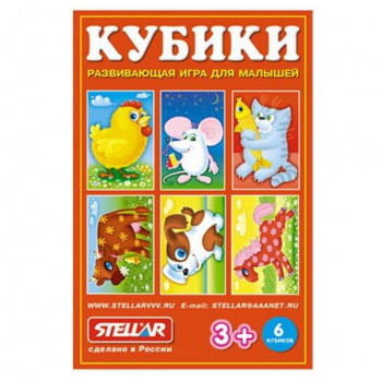 Кубики-картинки №23 (хорошие знакомые)