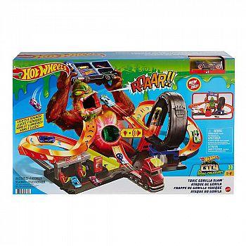 Игровой набор Mattel Hot Wheels Сити Атака бешеной гориллы