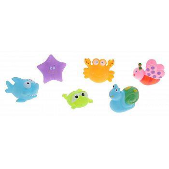 """Набор резиновых игрушек для ванной """"Веселое купание"""", в наборе 6 шт."""