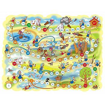 Настольная игра Десятое королевство Ходилка. Гуси-лебеди