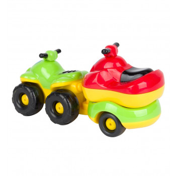 Квадроцикл с прицепом+гидроцикл