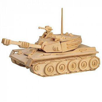 Сборная деревянная модель Чудо-Дерево Военная техника Танк 153 детали